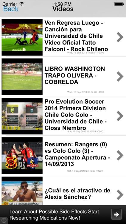 Futbol Chile : Primera A, libertadores screenshot-3