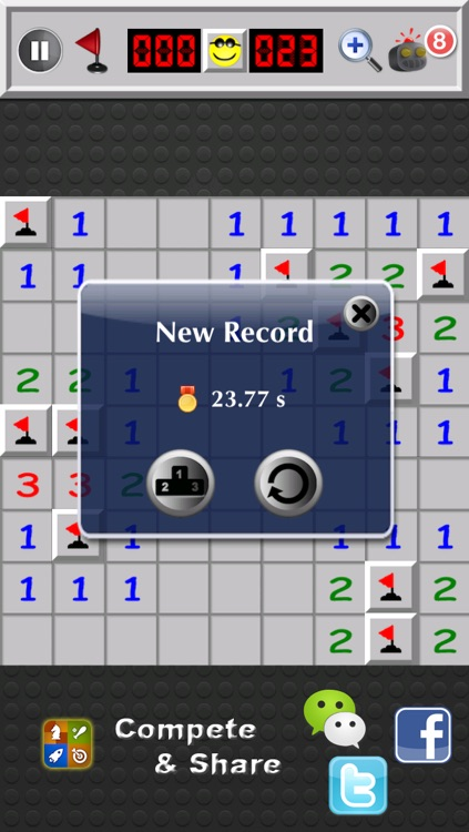Minesweeper Deluxe ™ screenshot-0