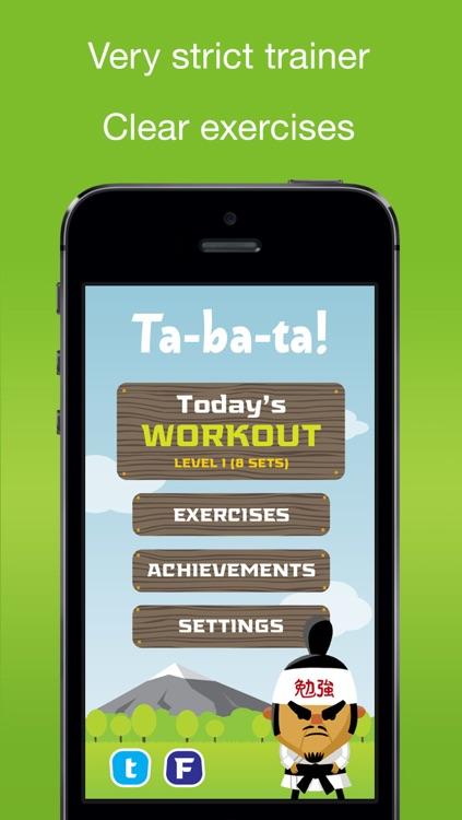 Tabata! Daily 4-Minute Workouts screenshot-3
