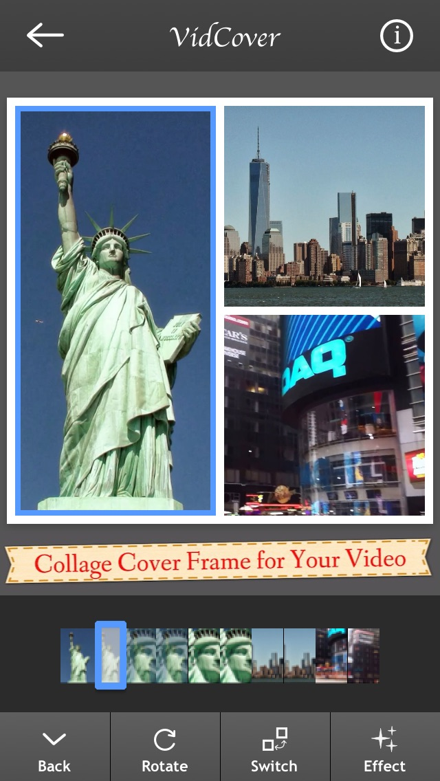 VidCover - collage cover frame to summarize your video on Instagram ...
