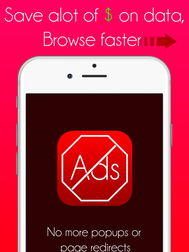 ‎PureBlock: Ad Blocker, Faster Web Browsing Save Data & Money Screenshot