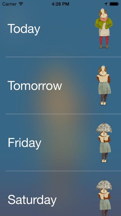 dress.app - weather forecast