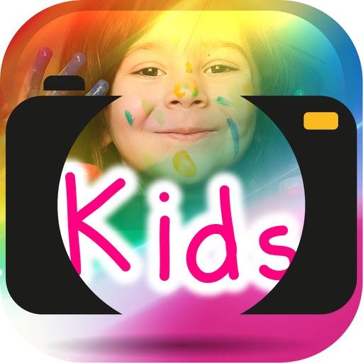 Paint On Photos Kids