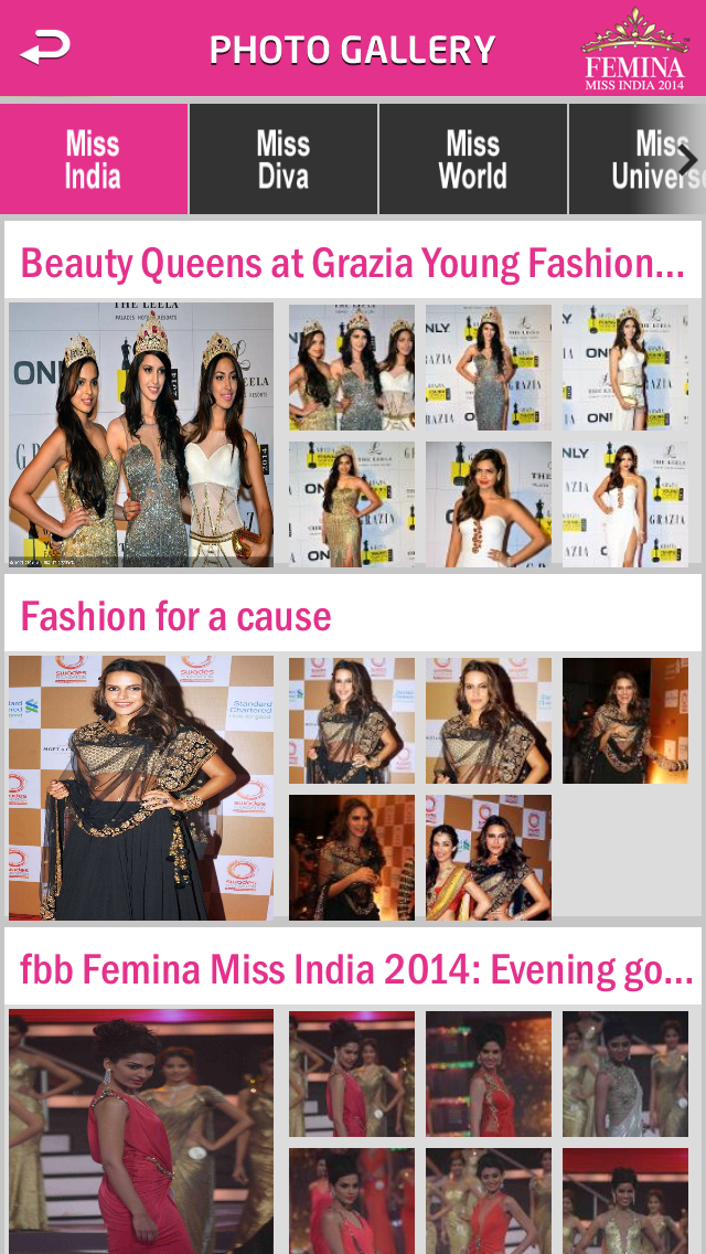 Miss India Screenshot