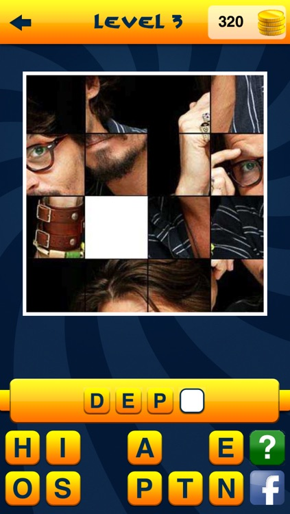 Guess the Celebrity Quiz Word Game