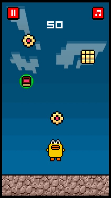 Cookie Fall Out - Addicting Flappy Cookie Bird Games For Kids Free