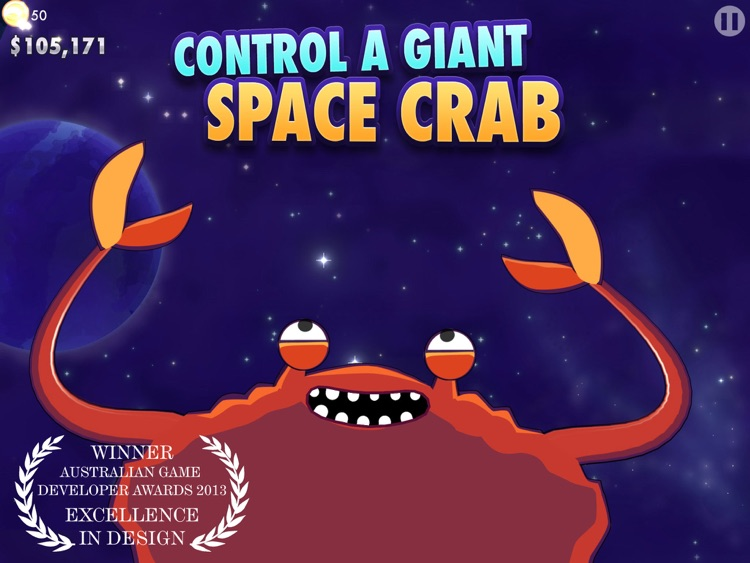 CRABITRON: Giant Space Crab Simulation