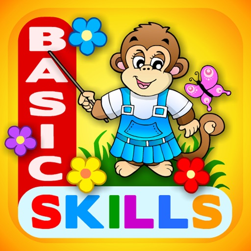 Preschool! All In One · Basic Skills School: Learning Adventure A to Z (Learn to Read Letters, TeachMe Numbers, Patterns and 123 Counting) -  Kids Love Educational Games with Puzzle Toy Train for Todd