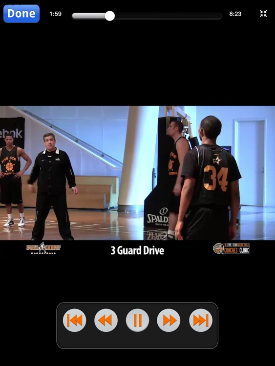 Aggressive Offensive Sets: A Playbook For A High Scoring Offense - With Coach Keno Davis - Full Court Basketball Training Instruction - XL screenshot-4