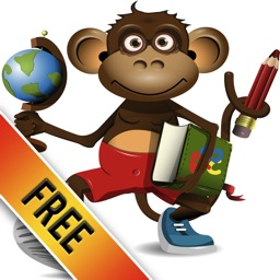 A Monkey World of Words: Cool First English Lessons
