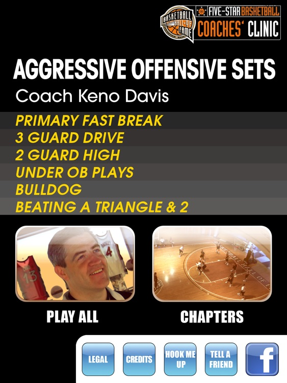 Aggressive Offensive Sets: A Playbook For A High Scoring Offense - With Coach Keno Davis - Full Court Basketball Training Instruction - XL