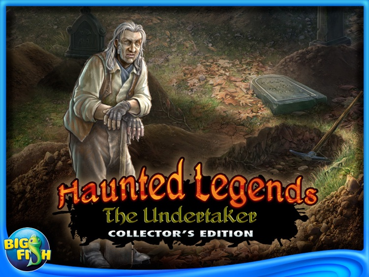 Haunted Legends: The Undertaker HD - A Hidden Object Adventure screenshot-4