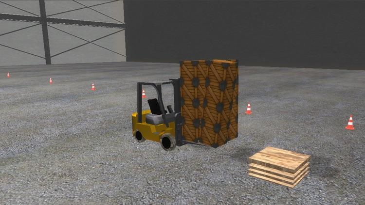 Forklift Master 3D Realistic Simulator screenshot-4