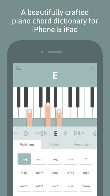 Cheeky Fingers - Piano Chord Dictionary, Progressions and Suggestions screenshot-0