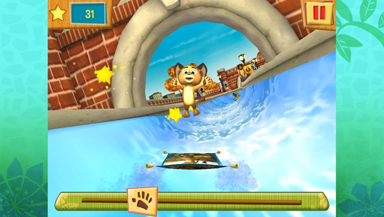 Madagascar Preschool Surf n' Slide screenshot-4