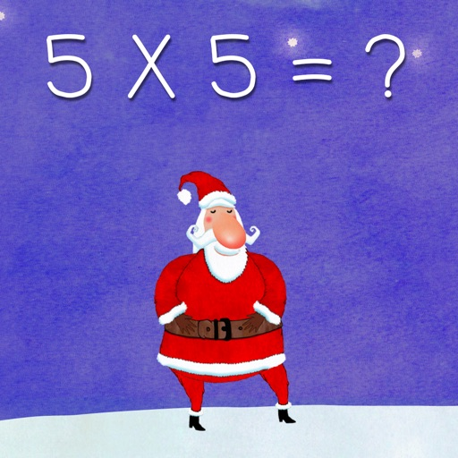 Learn times tables with Santa Claus : Lite Version.
