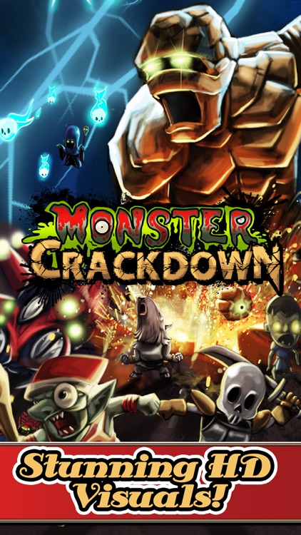 Monster CrackDown