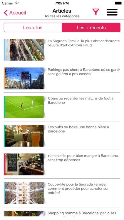 Les Bons Plans de Barcelone