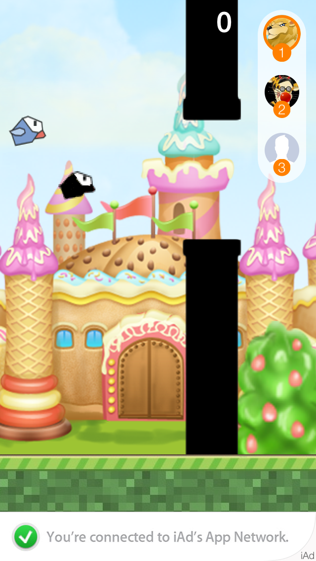 Yolo Bird - Multiplayer 1touch Action Game screenshot two