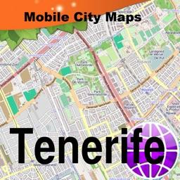 Tenerife Street Map.