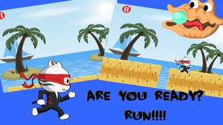 Tiny Ninja Cat: A Real Fun Run Adventure Challenge Game for