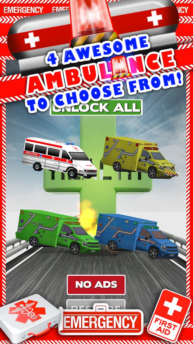 新ボーイズ無料でトップ楽しいドライビングレーシングゲームで、3D救急車レースカーのゲームのおすすめ画像1