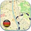 ドイツオフライン道路地図、ガイド(ベルリン、ハンブルクと無料版、ドレスデン)(Germany offline map)