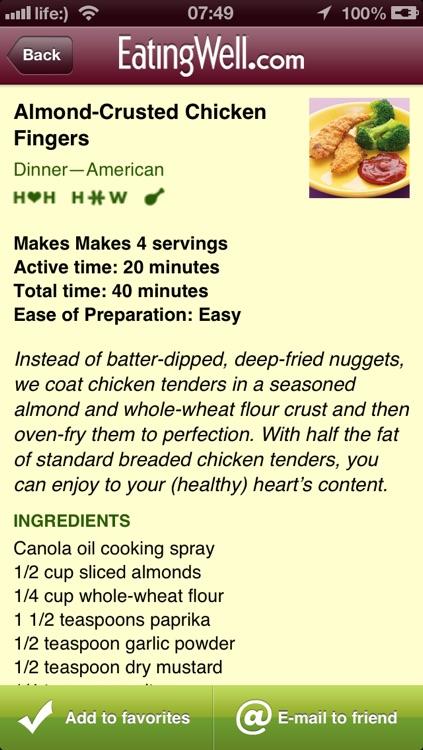 EatingWell Healthy in a Hurry screenshot-3