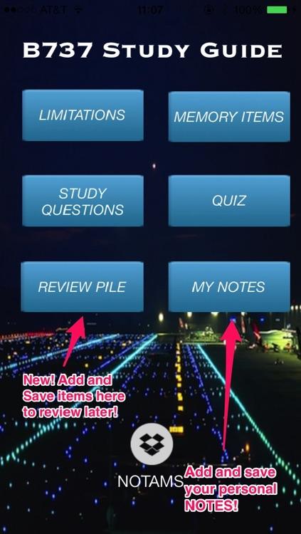 B737 Study Guide