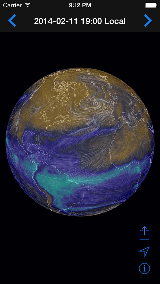 Climate Earth 3Dのおすすめ画像2