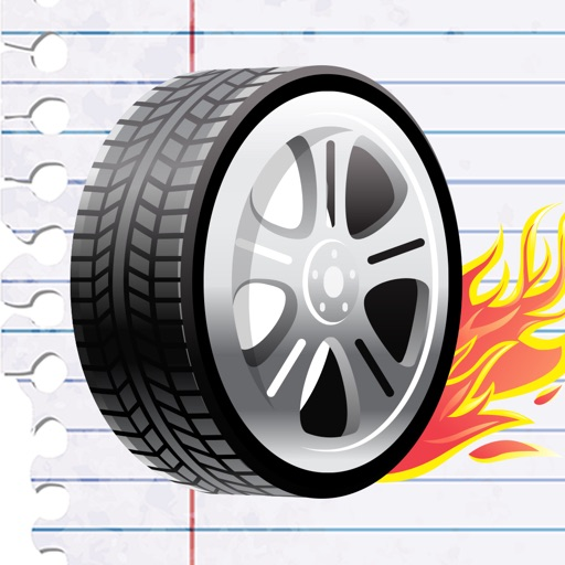 Notebook Racing Game: Back To School No Homework Edition icon