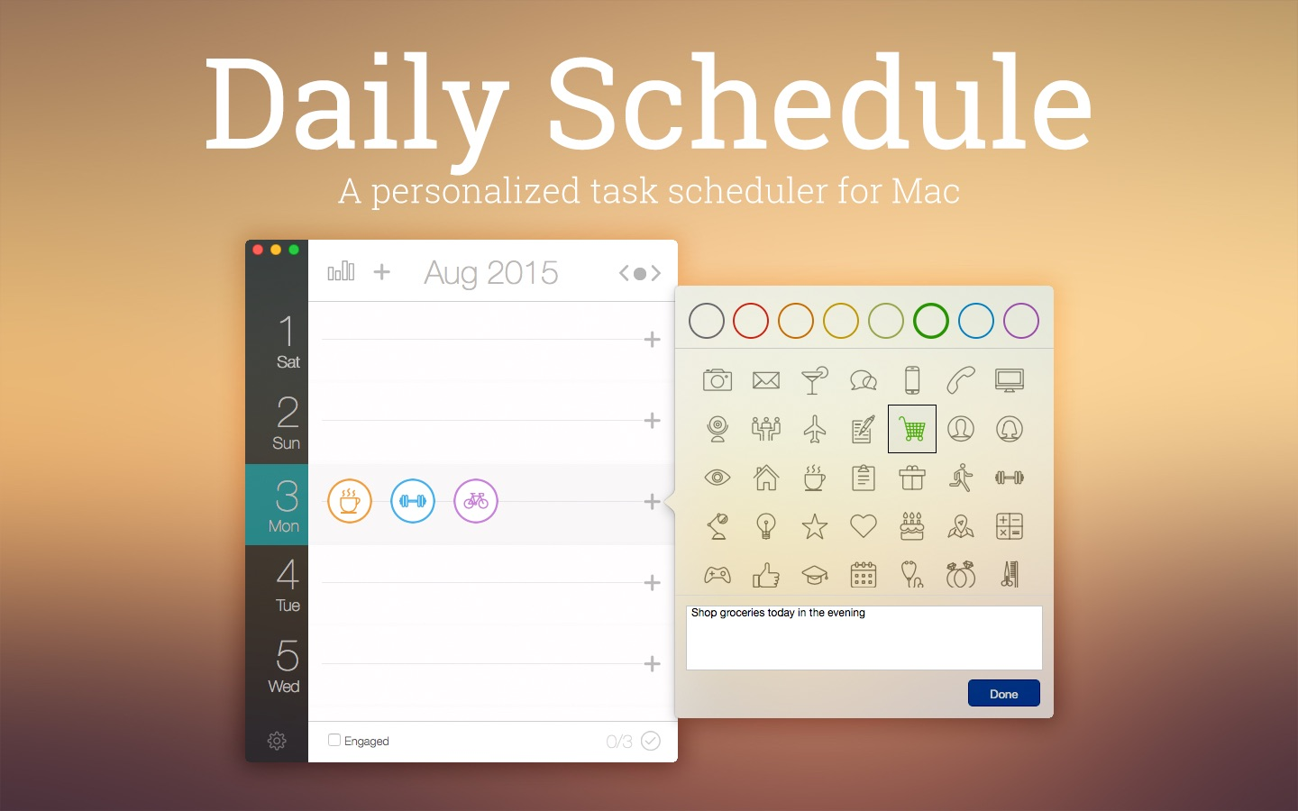 ‎Daily Schedule on the Mac App Store