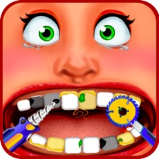 Activities of Dentist Office - Extreme Medical Surgery With A Little Tongue And Teeth Doctor