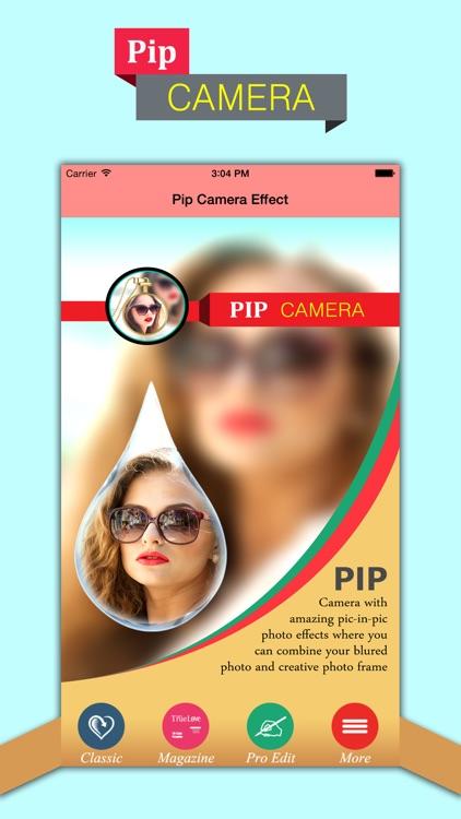 PIP Camera-Photo Effect