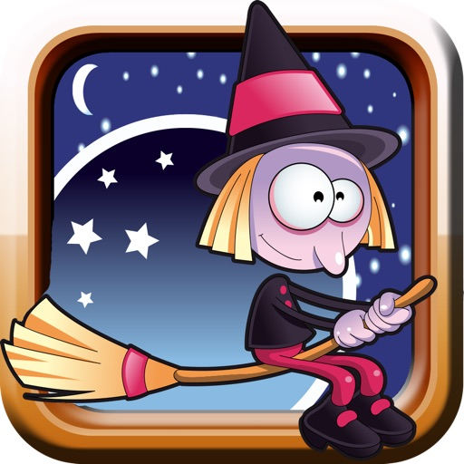 A Bubble Witch Halloween PRO - escape if you can from the vampire and jump into the spider web to get high-speed chase race - Delux version