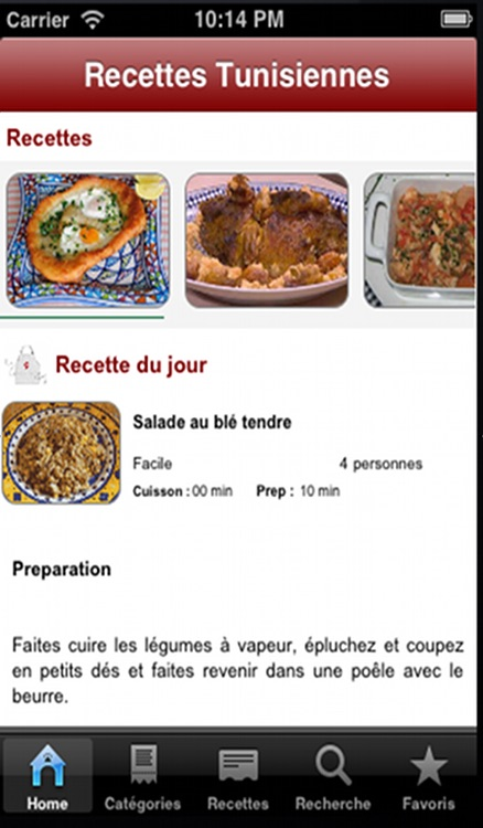 Cuisine Tunisienne screenshot-0