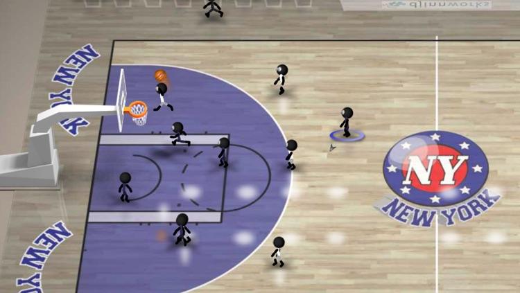 Stickman Basketball Blitz