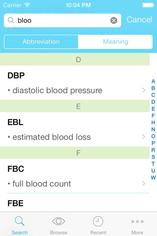Medly - Medical Abbreviation, Terminology, and Prescription