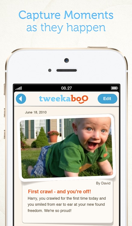 Tweekaboo: Share, Journal & Print your pregnancy, baby & family moments - privately.