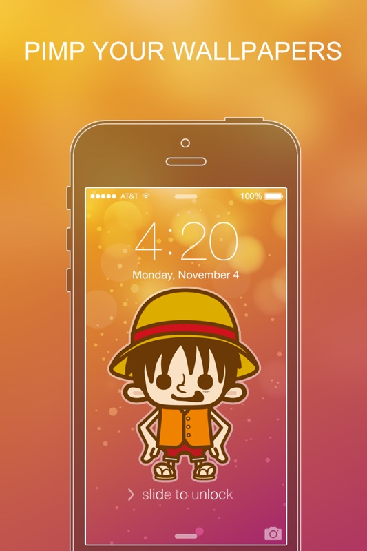 Pimp Your Wallpapers Pro One Piece Special For Ios 7