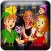 楽しい英語勉強、にほんご・えいごの音声絵本 ~平田先生の20タイトルの昔話シリーズ~ - iPadアプリ