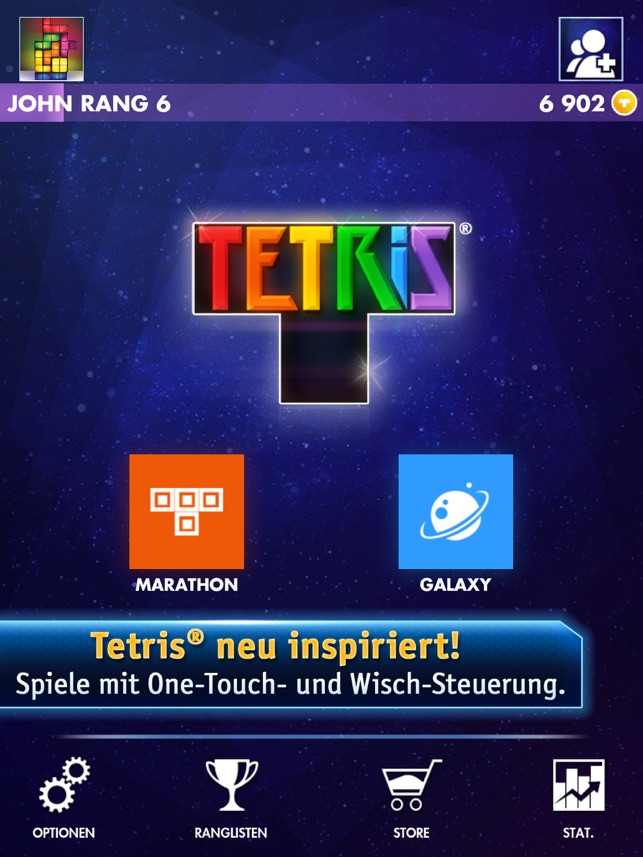 TETRIS® Premium for iPad Screenshot