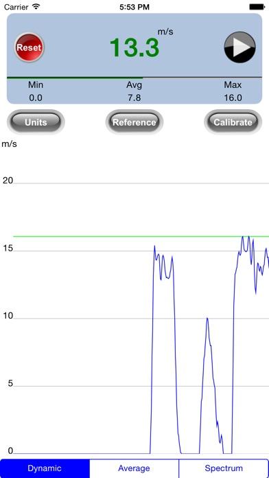 Screenshot for ZephyrPro Wind Meter in Peru App Store