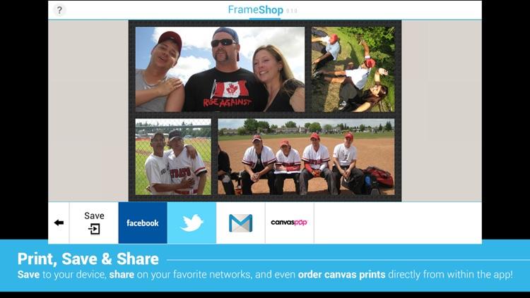 FrameShop Lite - Photo Frame Editor HD screenshot-4