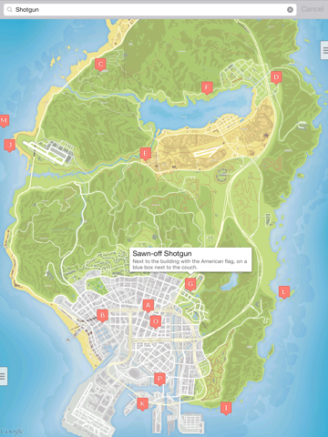 Interactive Map for GTA 5 - Unofficial-ipad-0