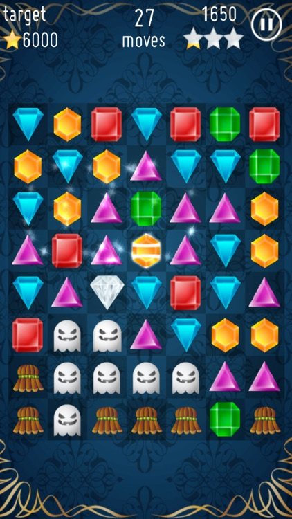 Jewels Crush - Free Game screenshot-4