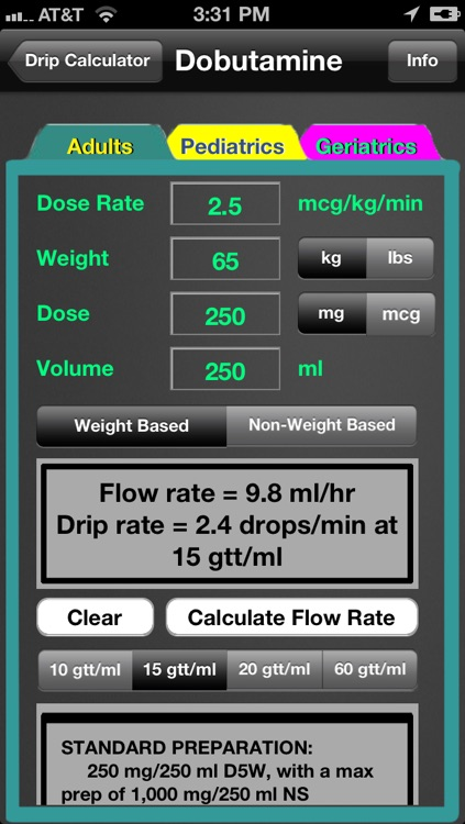 Drip Calculator screenshot-3