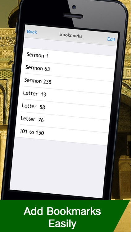 Nahj-ul-Balagha - a collection of Sermons, Letters and Sayings screenshot-2