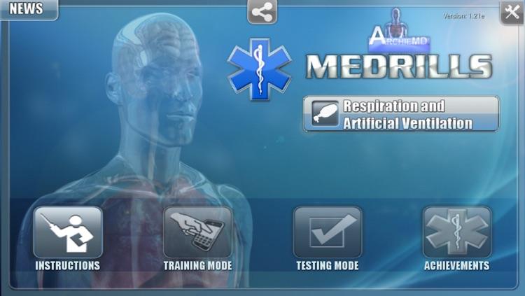 Medrills: Respiration and Artifical Ventilation