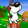 A Puppy Dog Hop Cannon Blast: Free Jumping Wheel Adventure Games